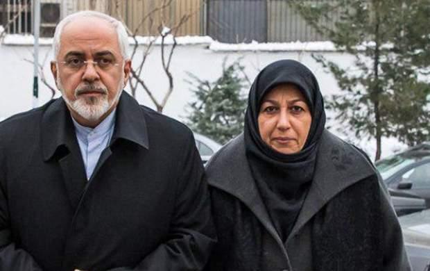 عذرخواهی ظریف و همسرش از بانوان تهرانی