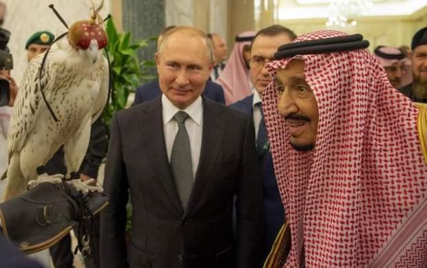 هدیه عجیب پوتین به پادشاه عربستان +عکس