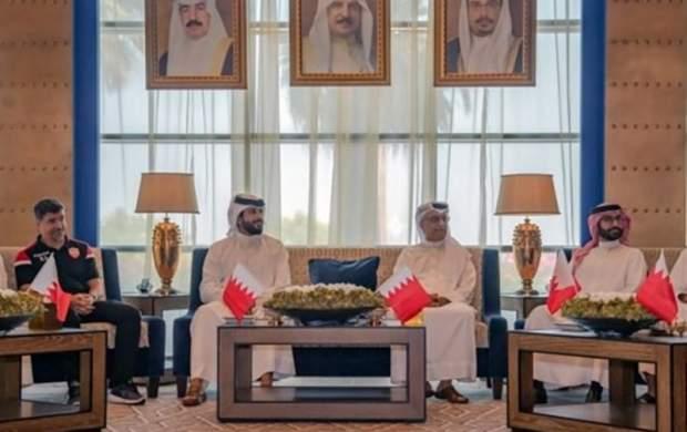 حضور عجیب رئیس AFC در ضیافت بحرینیها