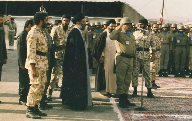 فرماندهیکه رهبری بخاطر او به کردستان رفت