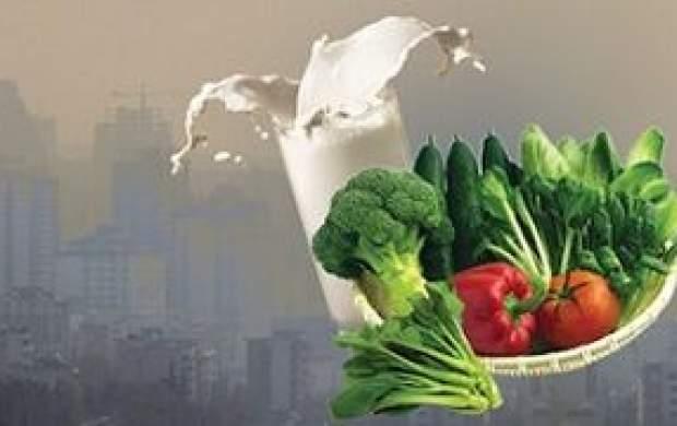 فواید نوشیدن شیر در روزهای آلودگی هوا