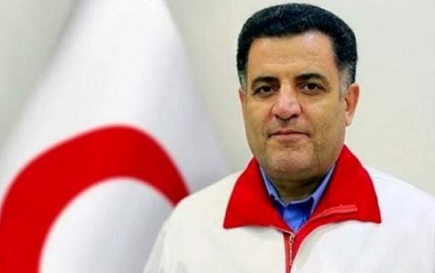 رئیس جمعیت هلال احمر بازداشت شد +جزئیات