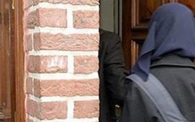 حمله زن و مرد انگلیسی به دختر مسلمان