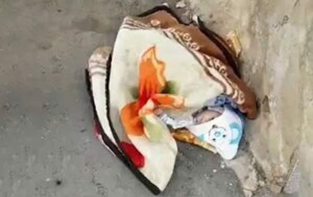 پدر و مادر نوزاد رها شده در شهرضا پیدا شدند