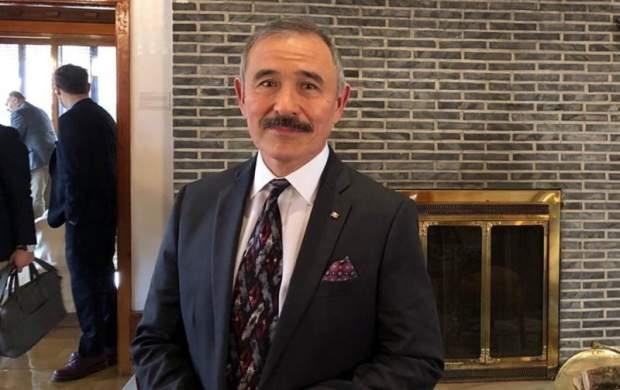 سبیل سفیر آمریکا جنجالی شد +عکس