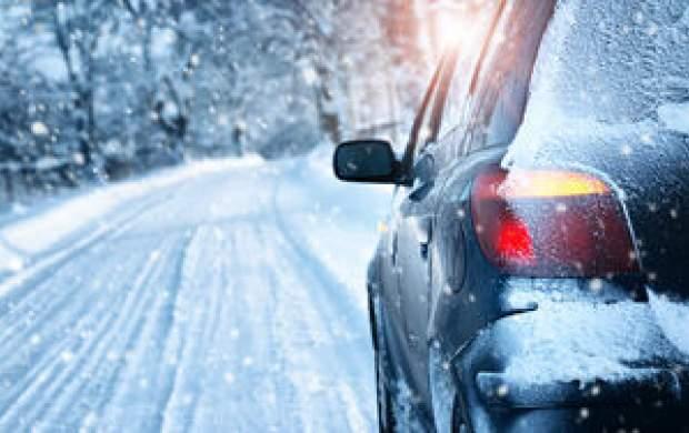در برف و یخبندان چطور رانندگی کنیم؟