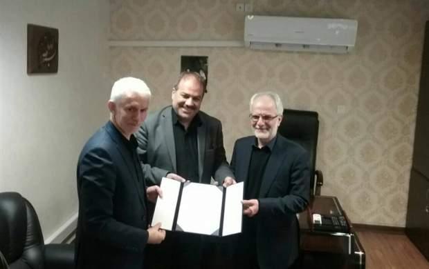 مازیار ناظمی با حکم وزیر ورزش پست گرفت