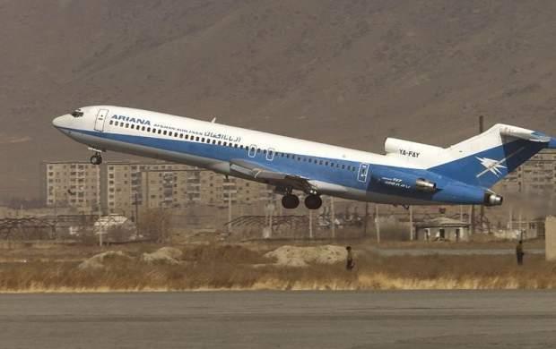 سقوط یک هواپیمای مسافربری در افغانستان
