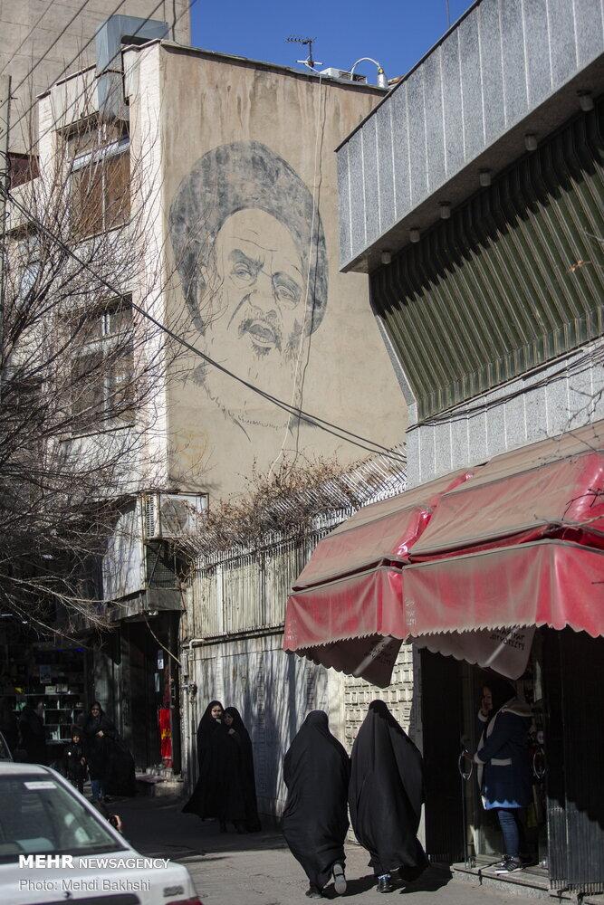 روزهای انقلاب در دیوار