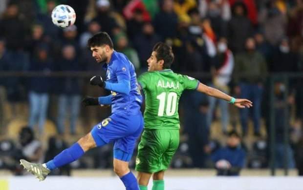 توقف استقلال مقابل تیم عراقی در آسیا