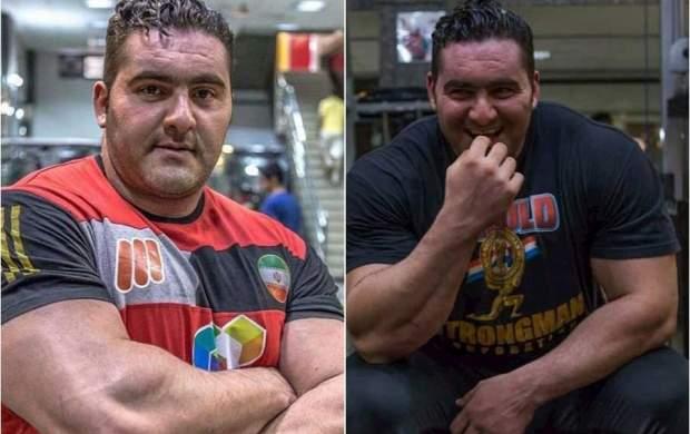 حمله مسلحانه به ورزشکار قویترین مرد ایران+عکس
