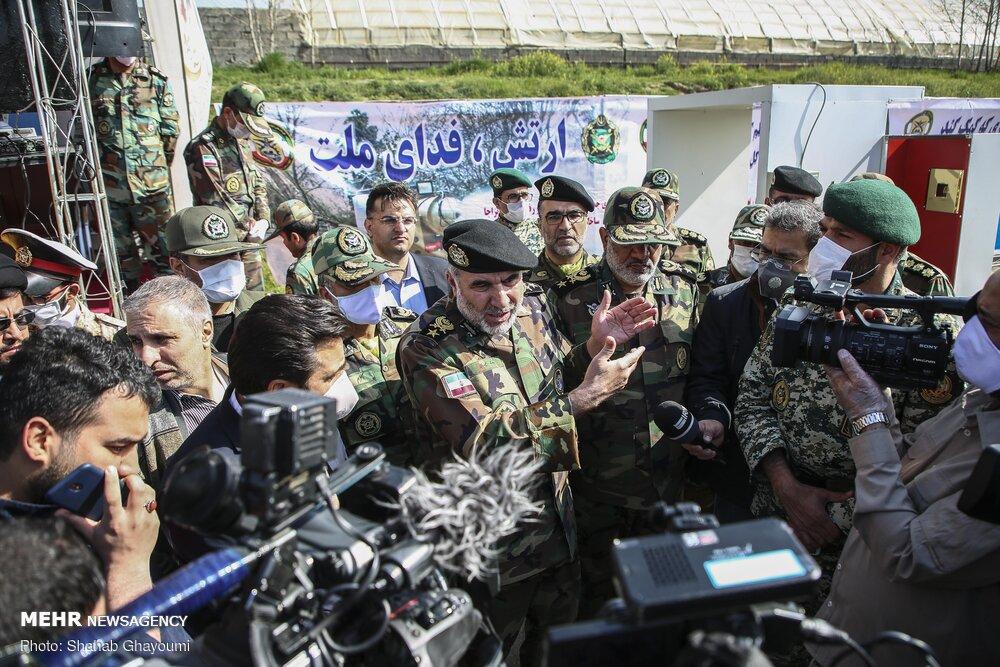 رزمایش ارتش برای مقابله با شیوع کرونا به روایت تصویر