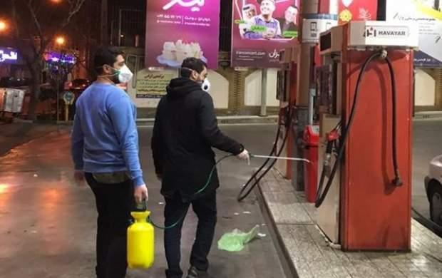 ضدعفونی شبانه تهران توسط ۲ هزار جوان هیأتی