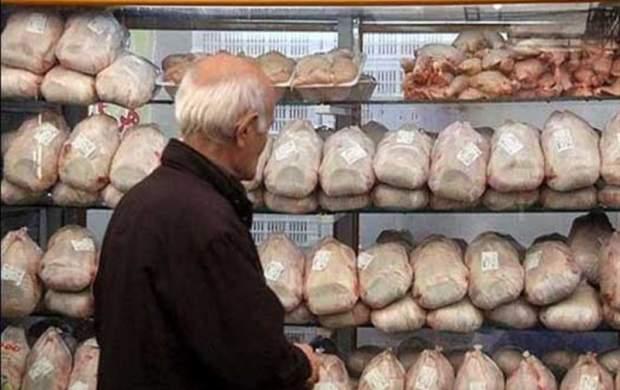 قیمت مرغ تازه به زیر ۱۰ هزار تومان رسید