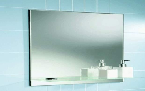 بخار آینه حمام را اینگونه از بین ببرید!