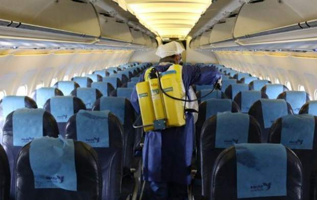 توقف ۱۰۰درصدی پروازهای برخی فرودگاههای کشور