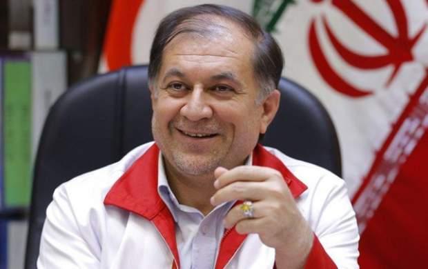رئیس سازمان امداد و نجات هلال احمر استعفا کرد