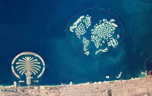 ناسا: تصویر حیرتآور از دبی