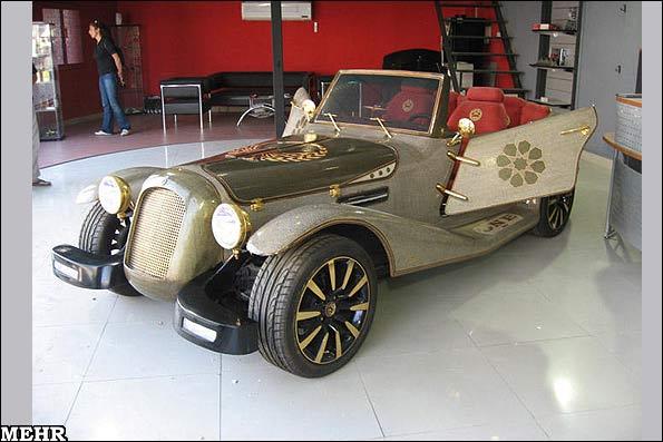 خودروی ایرانی از جنس الماس