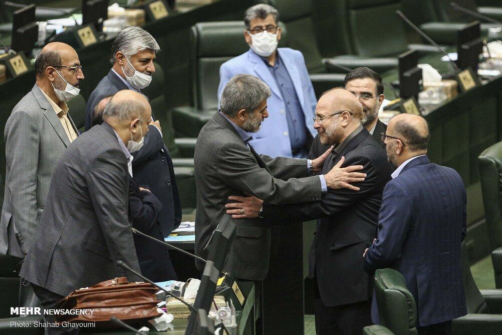 عکس/ حرکت زیبای قالیباف بعد از اعلام آرا