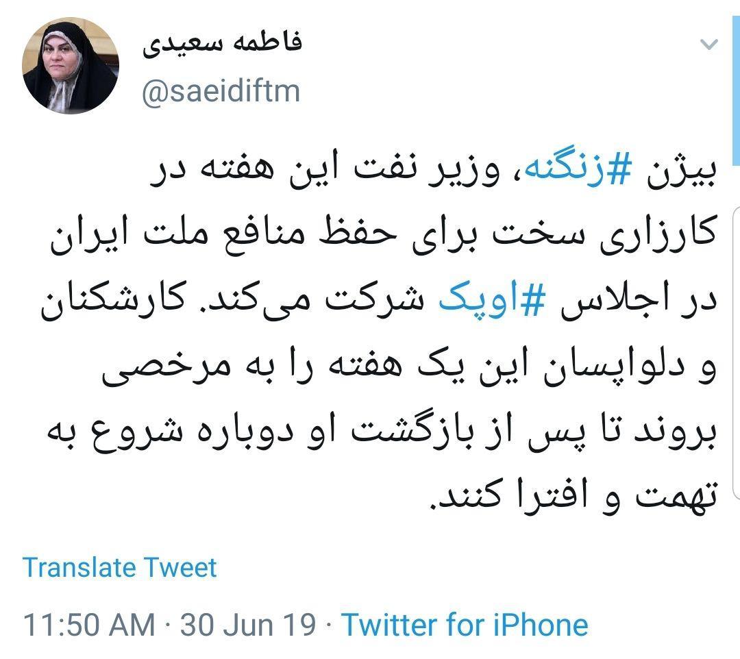 photo      (43) - آقای زنگنه! خیالتان راحت، حاشیه امن دارید/ اخبار تلخ وزارت نفت هیچ ربطی به شما ندارد